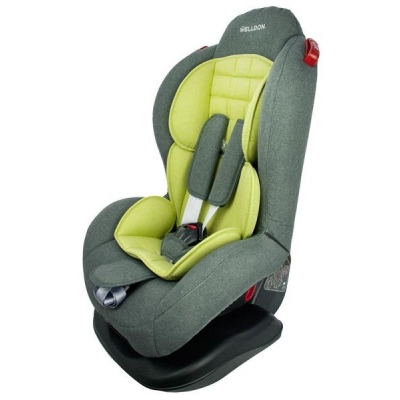 Автокресло Welldon Smart Sport Isofix, гр. 1/2